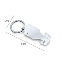 ingrosso fresca auto da corsa-Anello portachiavi in metallo per auto Cool F1 Racing Keychain Miglior regalo per uomo Ragazzo Spedizione gratuita