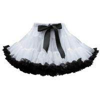 Wholesale Korea Skirt Nylon - Parent-child Pettiskirts Tutu Skirt Korea Style baby girls skirt Adult Clothing bowknot tulle Girl's Pleated dresses Free shipping G075