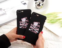 Wholesale Iphone Cover Club - Popular Anti Social Social Club Hard Plastic Case Cover For Iphone5 5S SE 6 6S 7 6Plus 7Plus