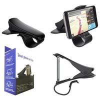 cradle entwürfe großhandel-NEUE Ankunft Auto Halterung Simulieren Design Autotelefonhalter Cradle Einstellbare Armaturenbrett Telefonhalterung für Sicheres Fahren für iPhone 7 7 Plus