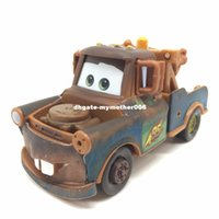 Wholesale Tow Mater Gifts - About 8cm Pixar Cars 2 Diecast Tow Truck Mater 1:55 Scale Metal Toy Car For Children Kids christnas Toys Gift
