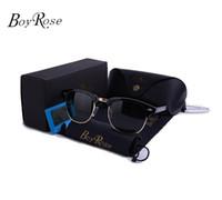 lunettes de soleil rayons achat en gros de-BoyRose-52MM Lunettes de soleil de haute qualité Classique RAYS lunettes de soleil pour hommes Femmes BANS CAT EYE Marque Design Gafas Oculos de Sol Bandes Lunettes de soleil