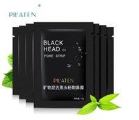 Wholesale Mineral Mud - 50mlShills Peel-off face Masks Deep Cleansing Black MASK 50ML Blackhead Facial Mask vs PILATEN Facial Minerals Conk Free shipping