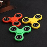 Blue spiral logos - Hand Spinner fingertips gyro finger toys decompression creative EDC toys fingertips spiral bearing toy can be customized Logo factory three