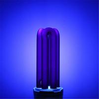 siyah ışık ultraviyole toptan satış-Yeni E27 UV Ampul AC220V 15 W 20 W 30 W 40 W Düz Düşük Enerji Ultraviyole Floresan Siyah Işık CFL Menekşe Antiseptik Lamba