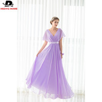 Wholesale Plus Size Prom Dress Shops - Ready to shop 2017 Strapless Beach Bridesmaid Dress Party Gown Light Purple Long Bridesmaid Dresses Cheap dress Real Photo A-B-C-D-E