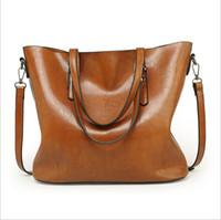 Wholesale satchel for sale - Womens Designer Satchel Purses Handbags Ladies PU Leather Tote Bags Zipper Shoulder Bags European and American Style
