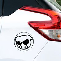 Wholesale Stickers Rally - Hot Sale Evil Rally Pigs Sticker Funny Personality Decal Vinyl Jdm Car Styling Import Drift Decor Art Form