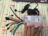 Wholesale Electric Bicycle Motor Controller - BLDC motor controller & 36v 48v 24vLCD display smaller size 110*45*85mm Max power 600w current 26A electric bicycle scooter parts with EBS