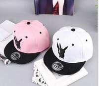 Wholesale Anime Snapback - Anime Poke Pikachu Cosplay Baseball Caps Adults and children Hip Hop Hat Kids Biboo Swag Snapback I Would'n help it Cap