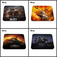 Wholesale Size Play Mats - Hot 2017 World Of Tank Computer Gaming Mouse Pad Gamer Play Mats More Rubber Custom Size