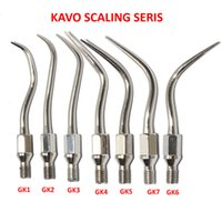 Wholesale Scaler Kavo - 7 PCS Dental Air Scaler Tip KAVO SONICflex #GK1 GK2 GK3 GK4 GK5 GK6 GK7 Compatible with KAVO SONICflex