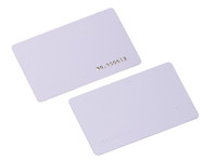 Wholesale Rfid Chips - 100pcs lot TK4100 4102  EM 4100 chip RFID 125KHz blank card Thin PVC ID Smart Card