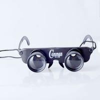 ingrosso giochi di pesce gratuiti-Wholesale-Spedizione gratuita 3x28 Pesca occhiali speciali pesca telescopio zoom in occhiali polarizzati gioco guardare galleggiante da pesca
