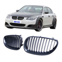 Wholesale High Quality Carbon Fiber Front Kidney Grill Grills Lattice For BMW Series E60 E61 M5 i i i i i P295