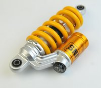 Wholesale OHLINS Damper Rear Seat mm Motorcycle Scooter Adjust damping Shock Absorber Struts for Honda MSX125 M3 Rear Wheel Yellow Suspension