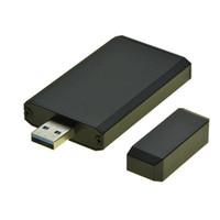 adaptador msata ssd usb venda por atacado-Venda por atacado - USB 3.0 para MSATA SSD portátil caixa móvel USB3.0 para mini adaptador de disco rígido SATA mSATA SSD caso HDD gabinete