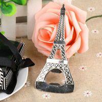 Wholesale Eiffel Tower Wine - Eiffel Tower Bottle Openers Party Favors Wedding Shower Gift Kitchen Gadgets Corkscrew for Wine Opener