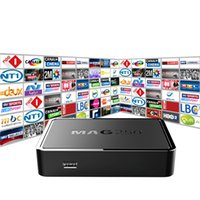 Wholesale Dvb S Tv Box - Top Quality IPTV BOX MAG 250 with 1100+Live TV Channels IPTV Box