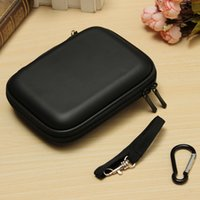 Wholesale Waterproof Hdd Case - Wholesale- External Hard Drive Carrying Case Usb Cable Case Cover Pouch Earphone Bag Waterproof Compressive Drop Detection Hight Quality