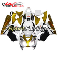 Wholesale Kawasaki Ninja Gold - Injection Fairings For Kawasaki ZX-12R ZX12R Ninja 2002 - 2006 02 03 04 05 06 ABS Motorcycle Full Fairing Kit Bodywork Cowling White Gold