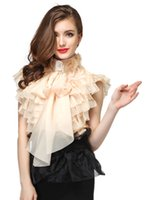 Wholesale Ladies Party Wear Tops - HIGH QUALITY Designer Top 2017 Spring Summer Women Style Cascading Ruffles Bow Tank Top Blouse Elegant Lady Cocktail Party Wear