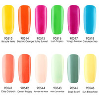 Wholesale Gel Polish Gelexus - Nail Art Nail 24Pcs lot Gelexus Soak Off UV Gel Polish 89 Fashion Colors Nail Gel the Best Gel Polish