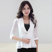 Blazer Summer Lady Casual Price Comparison | Buy Cheapest Blazer ...