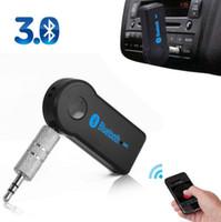 haut-parleurs bluetooth achat en gros de-3.5mm voiture Bluetooth Audio Récepteur Musique Adaptateur Auto Streaming A2DP Bluetooth Recevoir Universal pour voiture haut-parleur casque