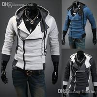 hombres de la chaqueta de los hoodies de los hombres de la chaqueta de la sudadera con capucha de los hombres de la al por mayormarca de fbrica ropa
