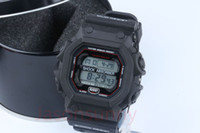 Wholesale Resist Watch - Gx56 men's sports watches, LED chronograph wristwatch GX-56-4DR digital watches, waterproof jelly resist wristwatch with box