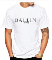 Wholesale Cool Clothing Men - 2017 Men's Clothing O-Neck Ballin Amsterdam Graphic Unisex T-shirt Men Short Sleeve T Shirt Cool Cotton Tee ShirtS-XXXL gh
