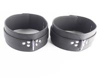 Wholesale Thigh Restraints Adult - Black PVC Male Thigh Rings Sexual Play Adult Sex toys for Men BDSM Bondage Gear Restraints XLYA029