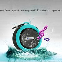 Wholesale Handsfree Wma - Sport Osculum type Bluetooth Speaker Waterproof Wireless Shower Handsfree for iphone&android Portable mini MP3 Super Bass Call Receive