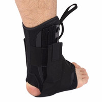 Wholesale Treatment For Feet - Wholesale- 1Pcs Ankle Support Fixed Sleeve Strap Walking Foot Sprain Support Braces Protector Treatment For Ankle Fractures Rehabilitation