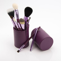 Wholesale Cheap Professional Make Up Brushes - 2017 Cheap wholesale 12 pcs Make Up Brushes Professional Brush Set Cylinder Cup Holder with case for women