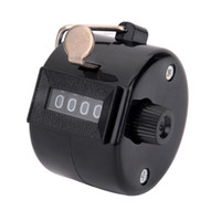 Wholesale Manual Mechanical Counter - Wholesale-4-Digit Manual Mechanical Counter - Black (Max. 9999)