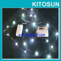 Wholesale Cheap Battery Operated Led Lights - Factory Wholesale CR2032 Coin Battery operated Christmas Xmas Party Tree Mini Micro led Cheap Fairy String Lights
