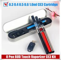 Wholesale Stylus Pen Multi - 2017 bud vape pen kit e cigarettes 510 thread battery .3 .4 .5 .6 1 ml vape cartridges ce3 o pen stylus co2 Tank Vape Starter Kit