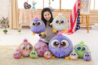 Wholesale Big size cm New baby Bird plush kids toys Cartoon animal Stuffed dolls Creative D Cartoon Bird action toy figure hobbies