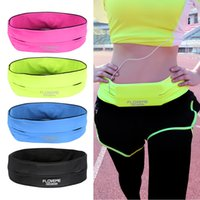 Wholesale Wholesale Pocket Belts - Fashion 5.5'' Universal Waterproof Running Sport Belt Bag Pouch For iPhone 6 6s 7 Plus Samsung Galaxy S8 S7 Egde Phone Bags Case
