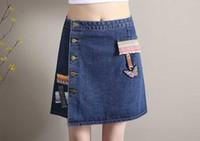 Wholesale Tall Shortest Skirt - Ms show thin short skirt of tall waist A word skirt pleated 2016 new women's skirts