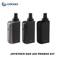 Joyetech eGo AIO ProBox Kit 2ml Tanques 2100mah Bateria Top Enchimento / fluxo de ar Shift Gears Kits 100% Original