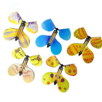 Wholesale Novelty Tricks - Magic Toys Hand Transformation Fly Butterfly Magic Tricks Props Funny Novelty Surprise Prank Joke Mystical Fun Classic Toys