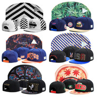 Wholesale Vogue Snapback Hat - high quality Basketball Football hustle Baseball Hip pop Funny Adjustable Vogue bongs Snapback Cap Hat Sport men women Cap paris d2010