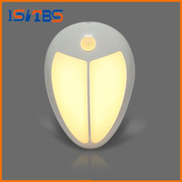 Wholesale Infrared Keyboard Mouse - Mini Wireless Infrared Motion Sensor Baby LED Night Light Porch Wall Lamp for Bedroom Hallway Cabinet Stairwells Kitchen Closet