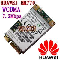 Wholesale Mini Pci 3g - Wholesale- original HUAWEI Mobile EM770 WWAN 3G CARD PCI-E HSPA module WCDMA UNLOCKED EDGE EM770