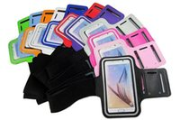 Para Samsung S8 Plus Armband Case para Galaxy Note 8 Sport Gym Running Belt Splashproof Cover 100pcs / up