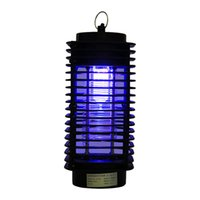 Wholesale Flying Wasp - UK Plug Bug Zapper Mosquito Insect Killer Lamp Electric Pest Moth Wasp Fly Mosquito Killer with Trap Lamp