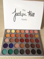 Wholesale Luminous Dhl - Makeup Eyeshadow Mor 35 color Eyeshadow Palette The JaclYn Hill Palette Eye Shadow DHL Shipping